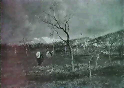 paysage de printemps by vittorio avanzi