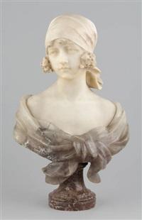 buste de jeune fille by george van vaerenbergh