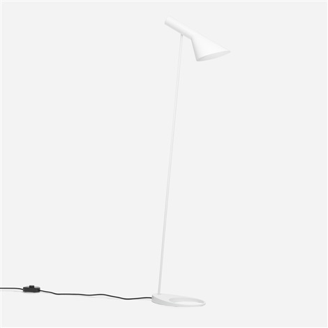 aj floor lamp by arne jacobsen