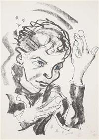 self-portrait (heroes) by david bowie