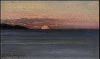 dusk by joseph-charles franchere