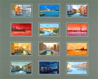 venise (suite of 12) by roberto d' ambrosio