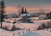 winter's glow by william j. saunders