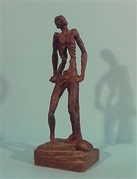 standing man by germaine richier