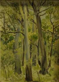 landscape by arnold joseph victor shore