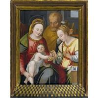 die mystische vermählung der heiligen katharina by innocenzo di pietro (da imola) francucci