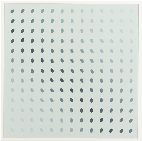 untitled nineteen greys b by bridget riley