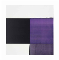 exposed painting red violet by callum innes