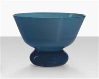 rare in corpo bowl, model 3437 by tomaso buzzi
