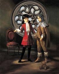 two noble men by park min-joon