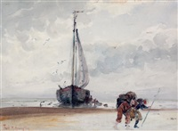 unloading the ship by frank milton armington