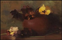 flowers by mary augusta hiester reid