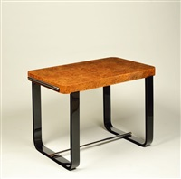 a side table by jindrich halabala