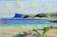 fair head, ballycastle by rowland hill