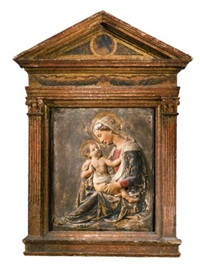 the madonna and child by luca della robbia