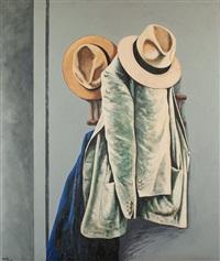 Abrigos y sombrero, 1984