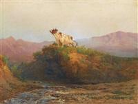 mountain pastures by lev felixovich lagorio