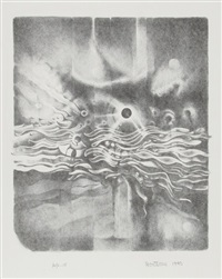 untitled from the women's portfolio by lee bontecou