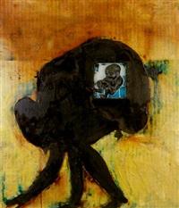 hombre africano by darío alvarez basso