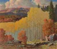autumnal glory by carl von hassler