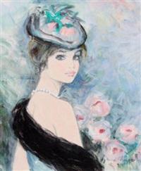 marie au collier de perles by bernard charoy
