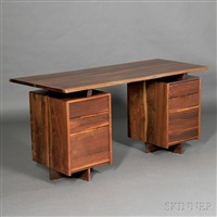 desk by george nakashima