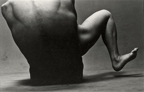 leg and torso by eikoh hosoe