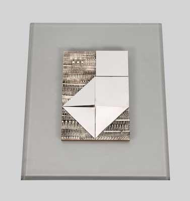 relief from secondo studio per 6 bozzetti by arnaldo pomodoro