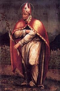 santo obispo by nicolás borrás