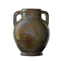 urn by pewabic pottery