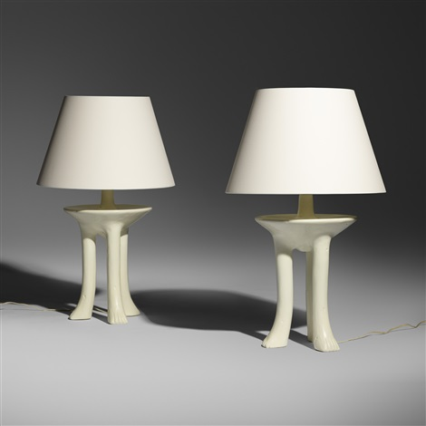 African table lamps pair by john dickinson on artnet african table lamps pair by john dickinson mozeypictures Gallery