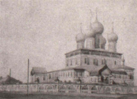 church in vladimir near moskow by georgiy bogdanovich yakulov