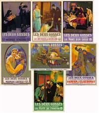 les deux gosses (7 works) by jacques bonneaud
