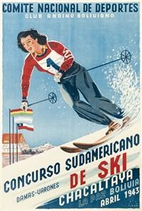 concurso sudamericano de ski by erich m. simon