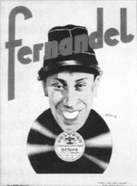 fernandel, disques polydor by j. jean