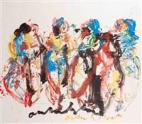 4 women by anton heyboer