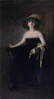 ritratto di giovane donna by pietro scoppetta