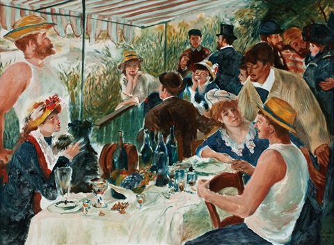 Luncheon Of The Boating Party Renoir Luncheon...