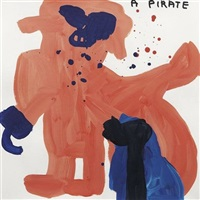 untitled (a pirate) by david shrigley