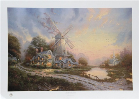 the wind of the spirit by thomas kinkade