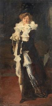 ritratto di signora by felice castegnaro