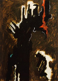 fear by clyfford still