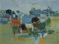 paysage du midi by gabriel godard
