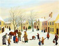 cotswold village by pamela cornell