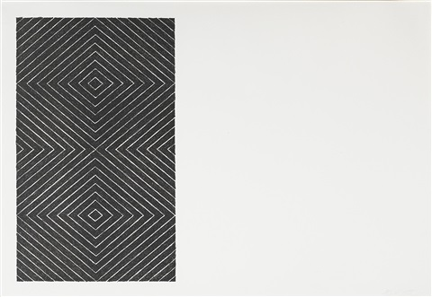 tuxedo park gezira from black series set of 2 by frank stella