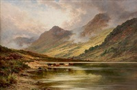 loch lubnaig, perthshire by henry decon hillier