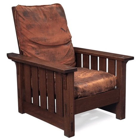 morris chair 332 by gustav stickley