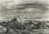 western landscape by frederick taubes