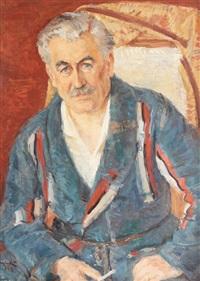 portretul unui colecționar by octavian angheluta