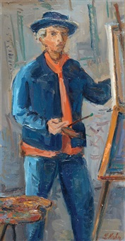 painter by leo kahn
